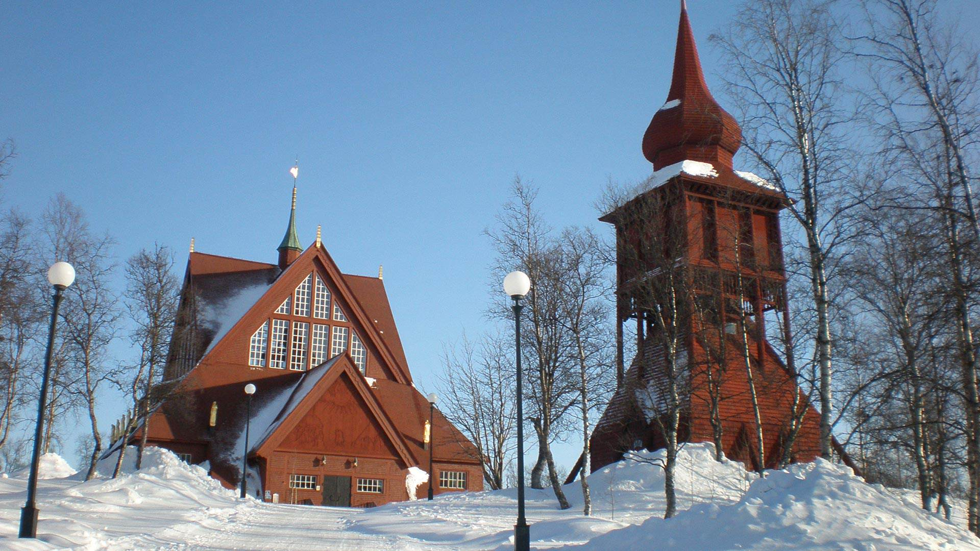 Winter Wonderland  In The Arctic Circle. Part One